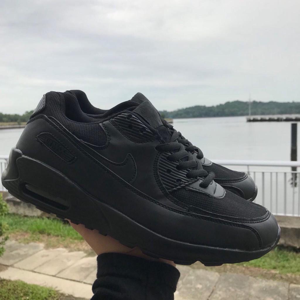 รองเท้าผ้าใบ Nike Airmax 90 All สีดำขนาด 36-45