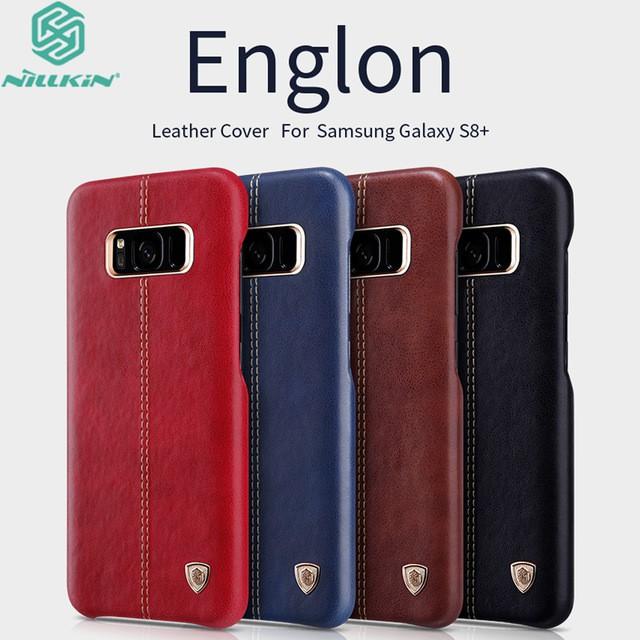 เคสแข็งลายหนัง Samsung S8 Plus ของแท้จากแบรนด์ Nillkin Englon Leather Case