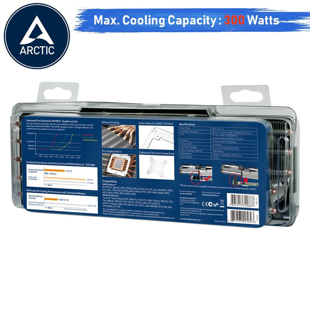Graphics Card Cooler Arctic Accelero Xtreme III | Shopee