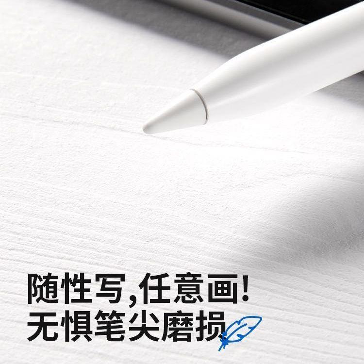 หัวปากกา Apple Pencil ของแท้และอะแดปเตอร์ชาร์จแบบฝาปิดสำหรับปากกา iPad รุ่นที่ 1 และ 2