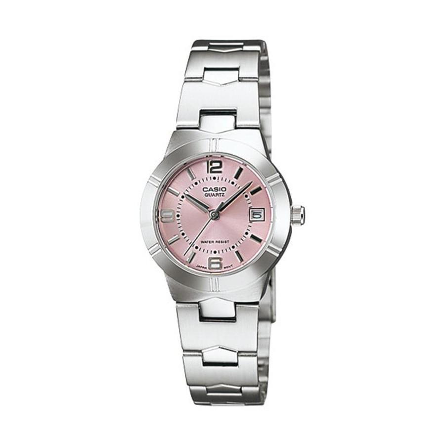 Casio Standard นาฬิกาข้อมือผู้หญิง สายสแตนเลส รุ่น LTP-1241D-4A - สีเงิน