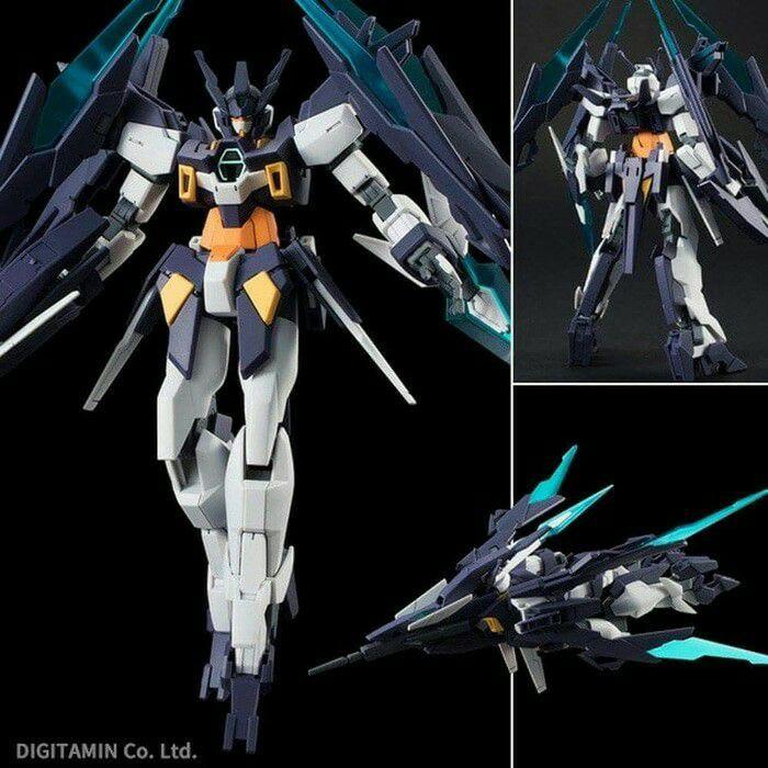 Bandai Hg 1 / 144 Gundam Age Ii Magnum ฐานขาตั้งเครื่องบิน