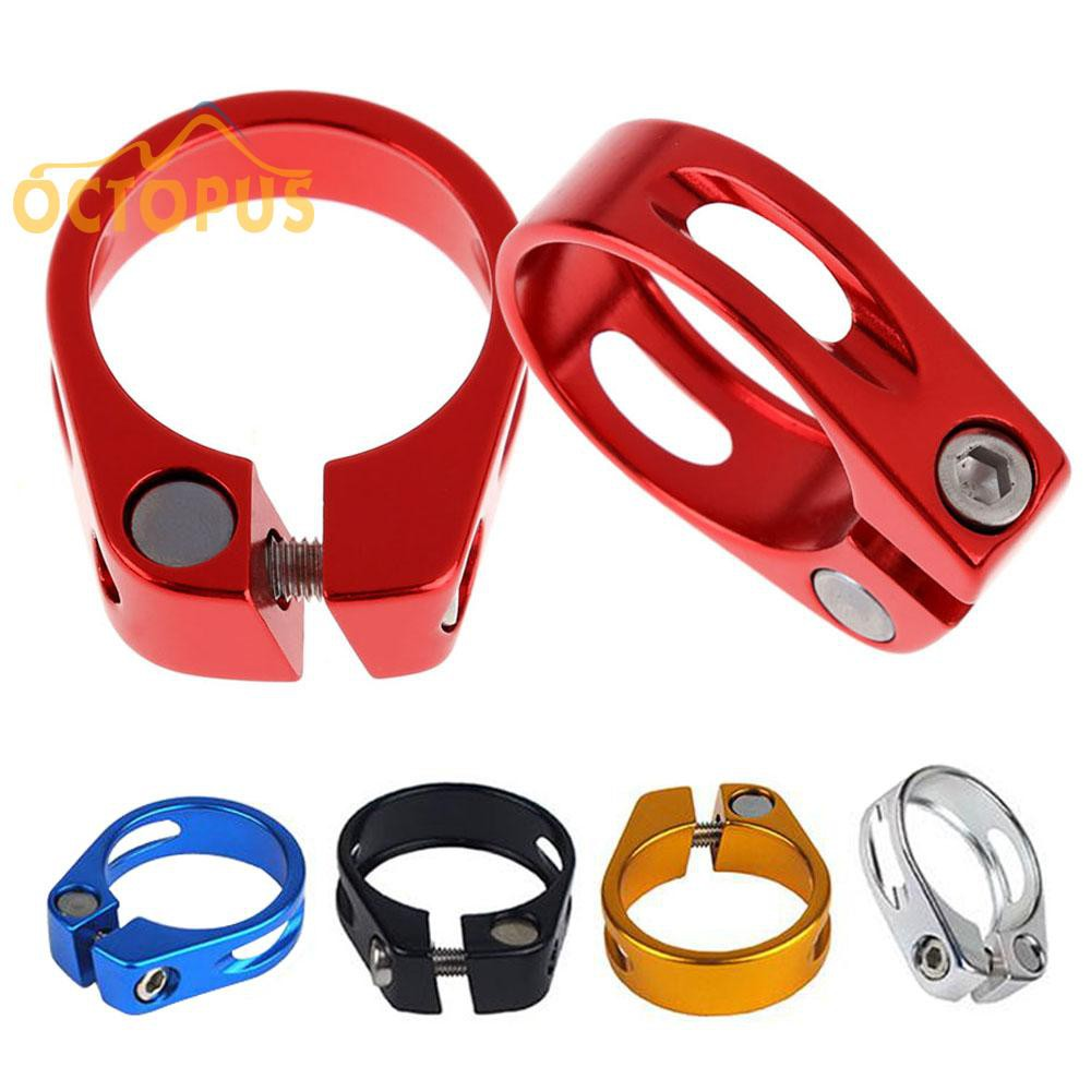 Collar Seatpost Seat Clamp Cycling Bicycle Bike Road Seatpost Clamp Supplies AL