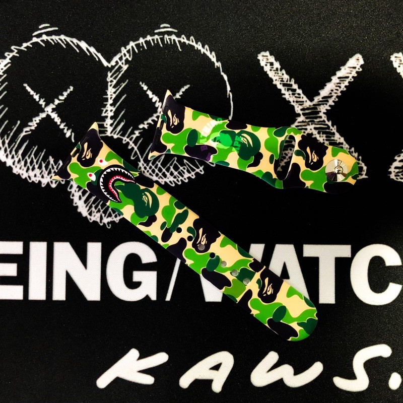 สาย_AppleWatch_Bape💚
