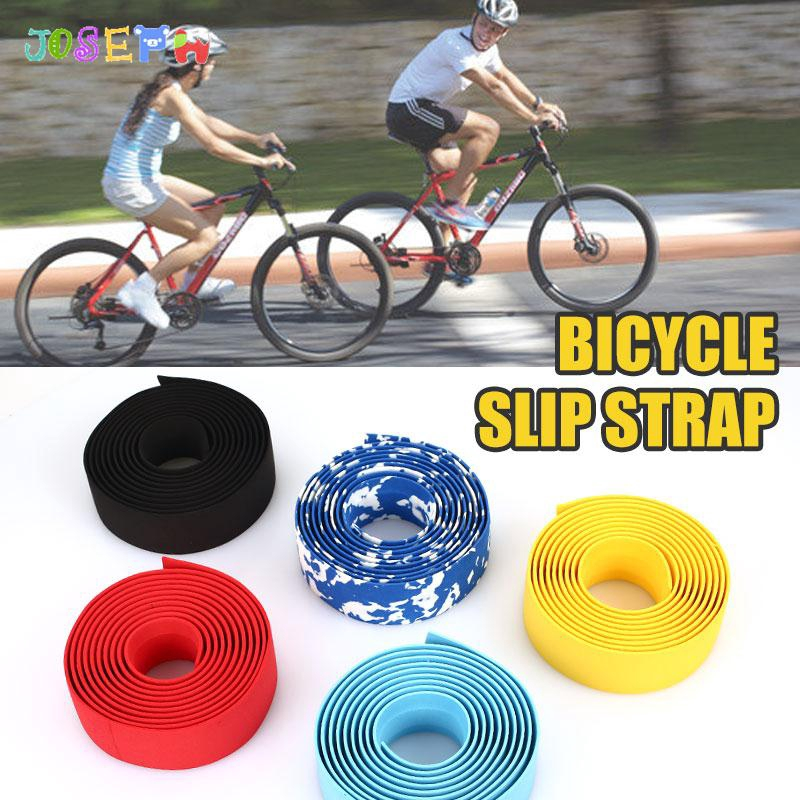 2pcs Bike Mountain Bicycle MTB Handlebar Rubber Handle Grips Anti-slip Gadgets Q