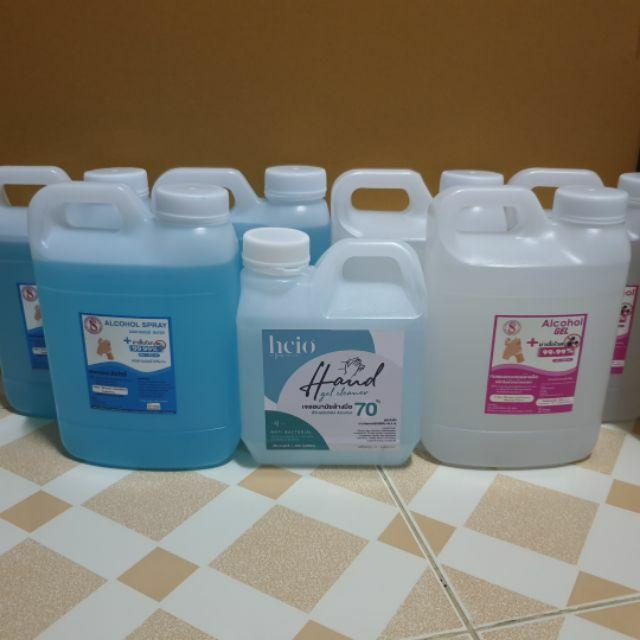 แอลกอฮอล์ล้างมือ / เจลล้างมือ 70 % 1000 ML ราคาโรงงาน