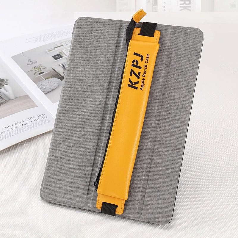 ❃✹ป้องกัน ipad apple pencil case 10.2 inch 2018 new pen 2nd generation 1st air3 with slot pro11 storage box accessories