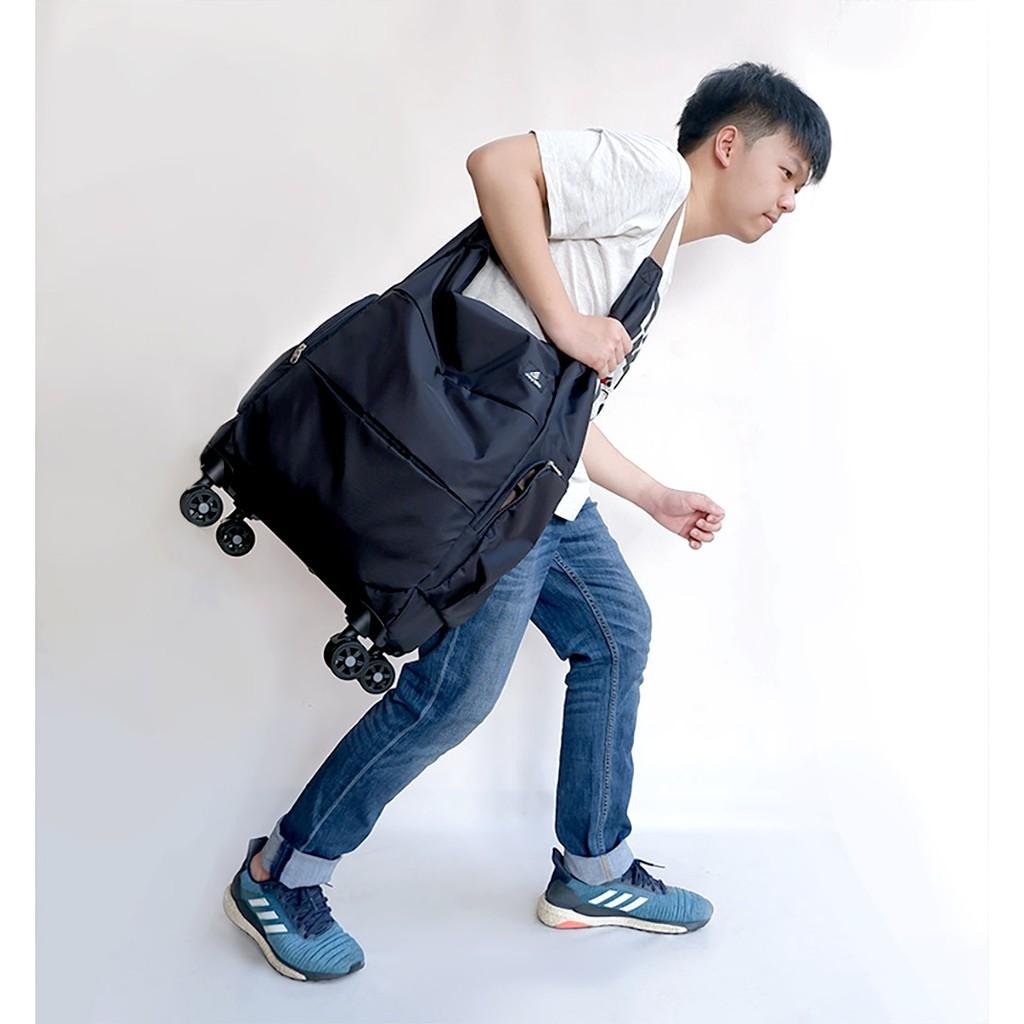 JAYWA กระเป๋าสะพายล้อลาก กระเป๋าเดินทางล้อลาก รุ่น BELONG กระเป๋าเดินทางใบเล็ก กระเป๋าช้อปปิ้งล้อลาก