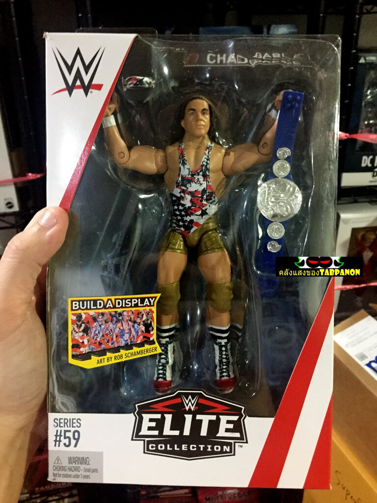 [18.05] WWE Elite 59 Chad Gable 7-Inch Action Figure