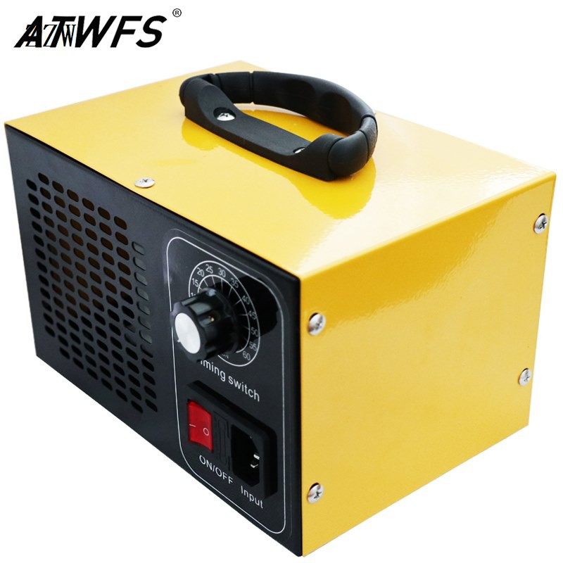 ATWFS 48g โอโซนเครื่องกำเนิดไฟฟ้า 220v เครื่องฟอกอากาศเครื่องผลิตโอโซนทำความสะอาดบ้าน O3 Ozon Generator desinfection Ozo