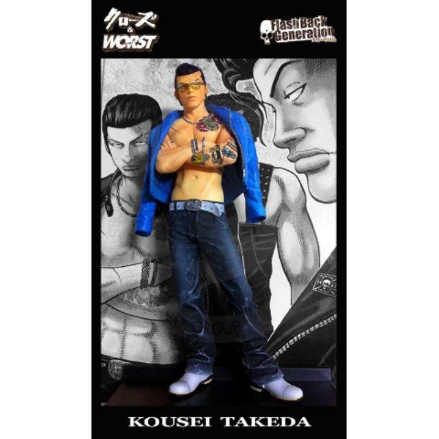 อีกา 22 cm CROWS & WORST 22 cm KOUSEI TAKEDA (Dive Limited Edition)