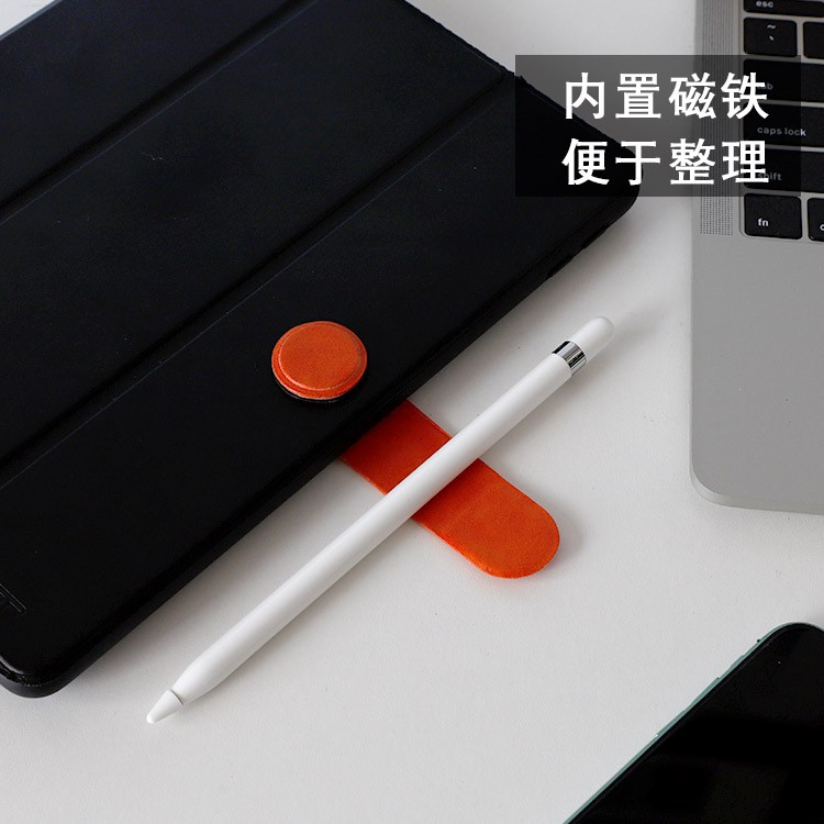 ≦➳ใช้ได้กับ Apple Pencil Stylus 1/2 Ghost Pen Sticker Storage Magnetic Pen Case Tablet Paste Case
