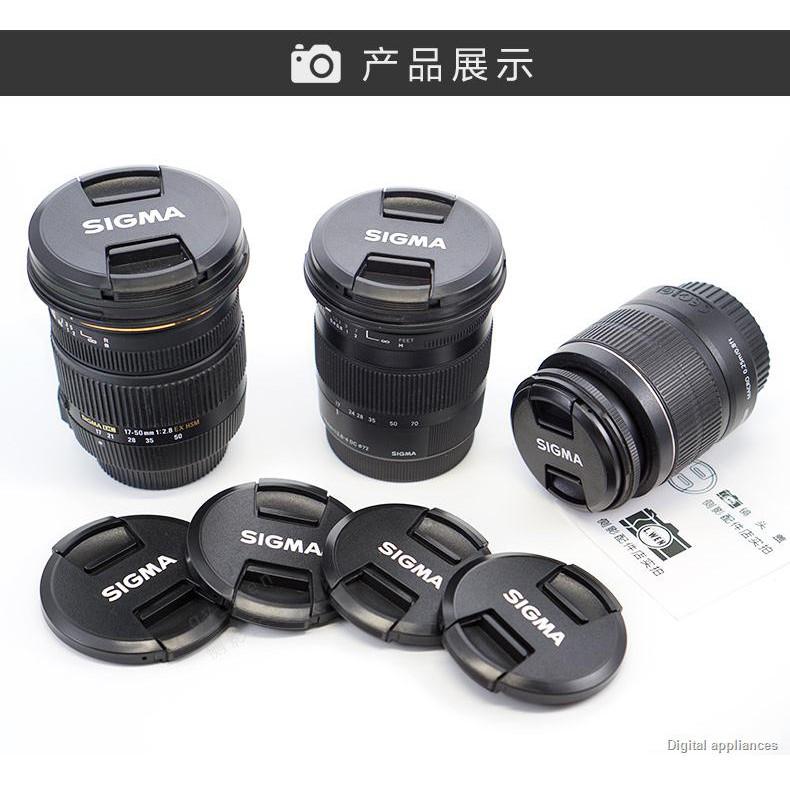 ส่งจากกรุงเทพ❉ฝาปิดเลนส์ Sigma 56mm F1.4 DC 45 2.8 50-200 สำหรับ LCF-55mm Sony ดั้งเดิม