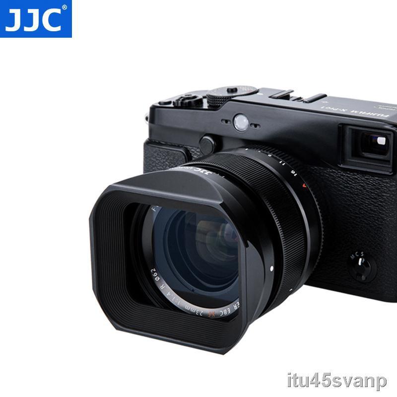 อุปกรณ์เสริมเลนส์▤☫JJC hood เหมาะสำหรับ Fuji XF23mmF1.4 เลนส์ XF56F1.2R APD โฟกัสคงที่ XT30 XH1 XT4 X-T4 กล้อง 62 มม.