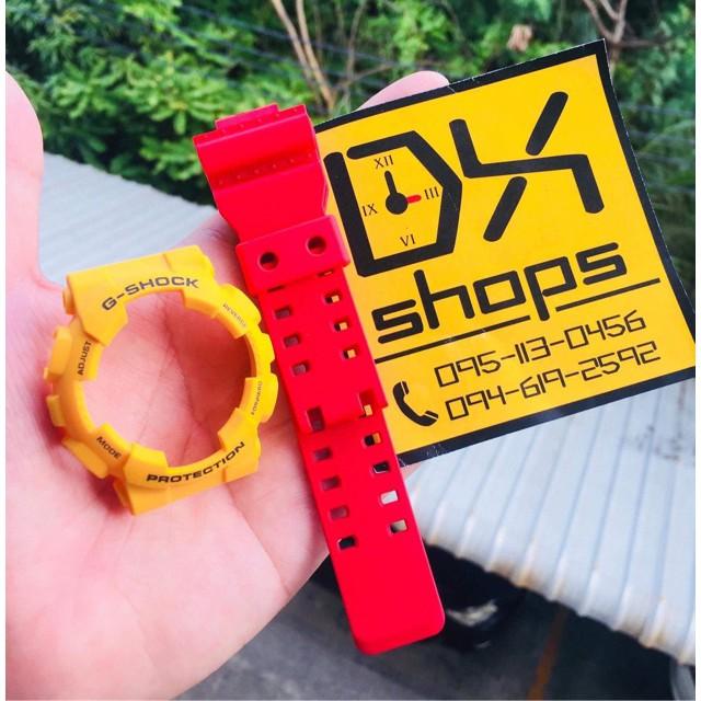 applewatch  สายนาฬิกา  สายapplewatch สายนาฬิกาแฟชั่น สายนาฬิกาApplewatch กรอบสายนาฬิกา G-Shock ของแท้💯% รุ่น GA,GD-100,