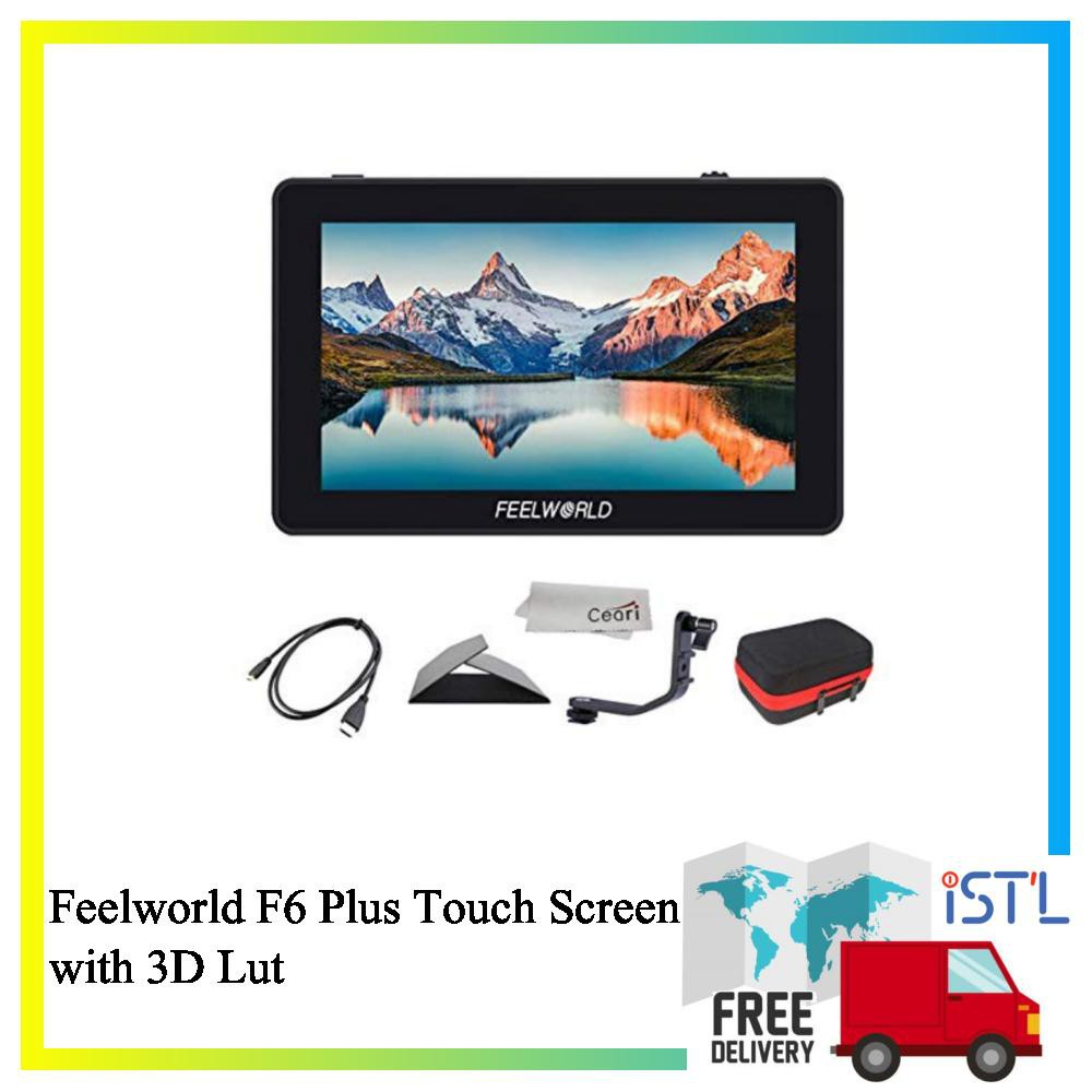 FEELWORLD F6 Plus 5.5 inch Touch Screen 3D Lut DSLR Camera Field Monitor