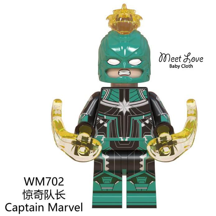 Lego Avengers Lego Captain Marvel เลโก้ อเวนเจอร์ส เลโก้กัปตันมาร์เวล ภาคดั้งเดิม