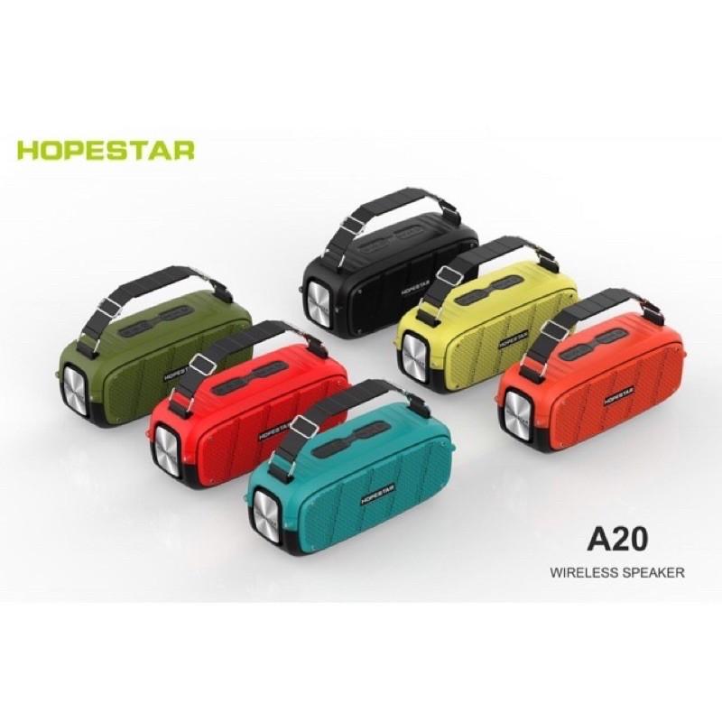 Hopestar A20 Pro ลำโพงบลูทูธ เสียงดีเบสแน่นดังกระหมของแท้ 100%
