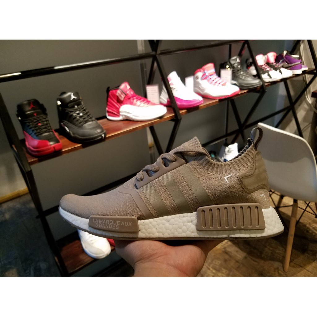 d110762bffd50 Adidas NMD R1 PK Cream S81848 Adidas Truth Boost sports shoes ...