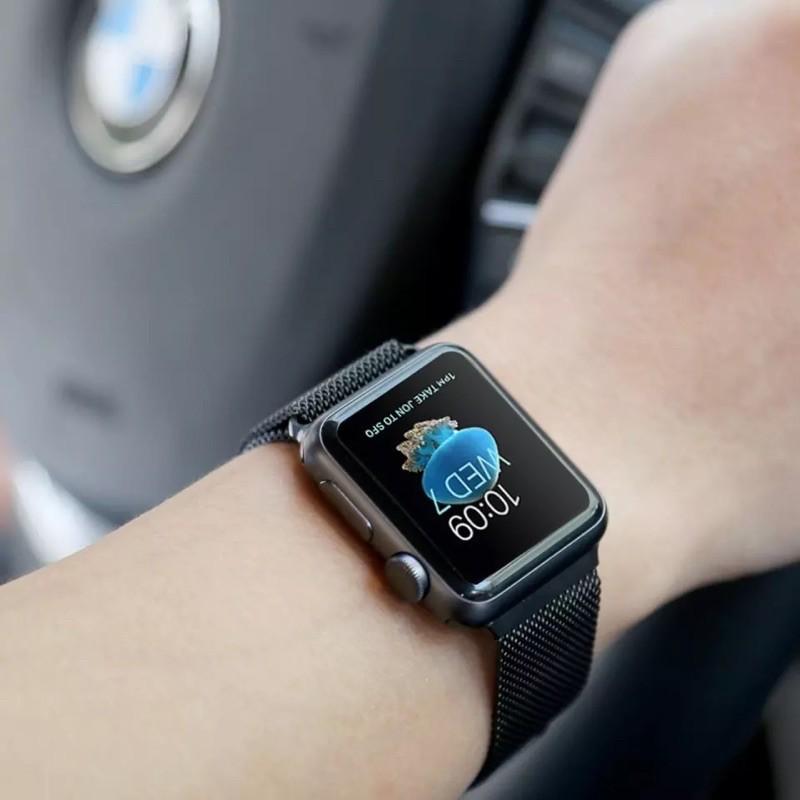 สายนาฬิกา# พร้อมส่งจากไทย สายStainless Steel สำหรับ AppleWatch มีให้เลือก 6 สี ใส่ได้ทั้ง 6 series SE/6/5/4/3/2/1