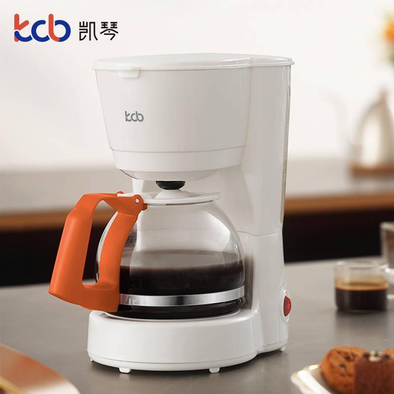 Keqin เครื่องชงกาแฟอเมริกัน Zhong Hanliang สดบ้านอัตโนมัติขนาดเล็กมินิอเมริกันหยดทำอาหารกาน้ำชา