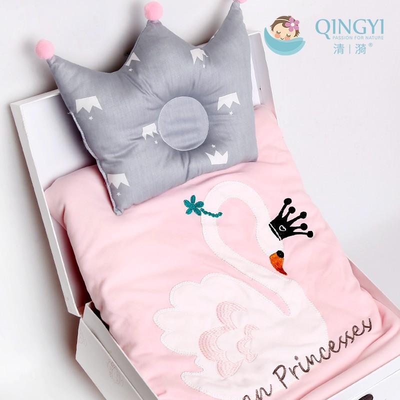 กล่องของขวัญเด็กทารกแรกเกิดกอดผ้าห่มเกิดซัพพลายผ้าห่มฤดูใบไม้ผลิ / ฤดูร้อนผ้าฝ้ายแท้ทารกกอดผ้าห่มกระเป๋าเดินทางของขวัญ