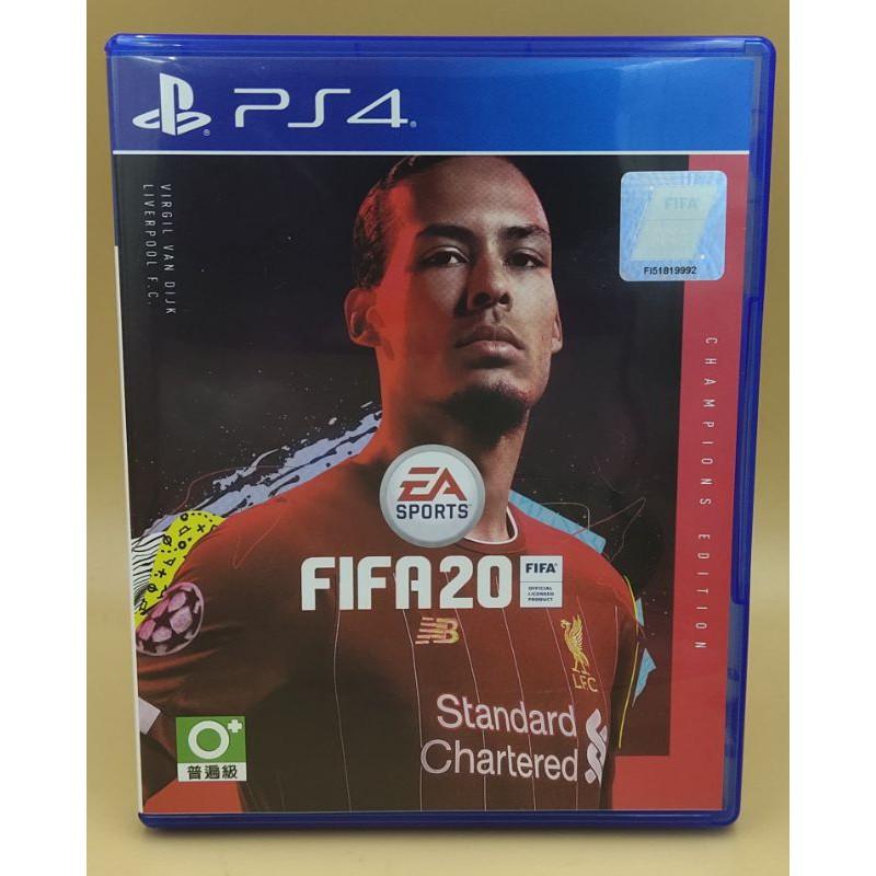 (มือสอง) มือ2 เกม ps4 : FIFA 20 Champions Edition โค๊ดครบ โซน3 แผ่นสวย