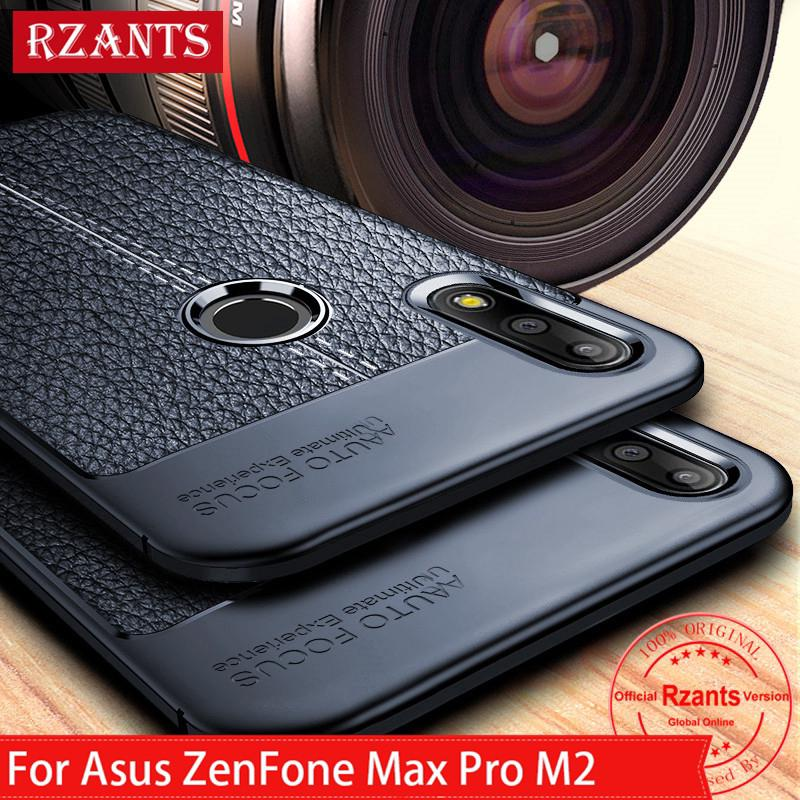 Review Asus ZenFone Max Pro M2 เคส Soft Case เคสโทรศัพท์ Premium TPU Leather Slim Full Protection เคสมือถือ Cover