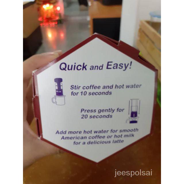 เครื่องทำกาแฟ Aeropress สำหรับทำกาแฟสด slDh