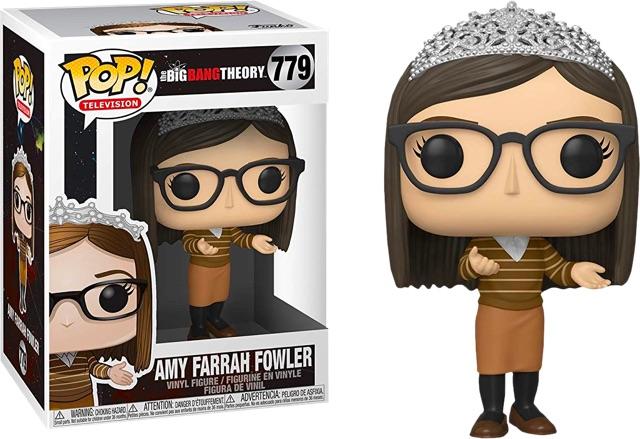 Big BANG teoría-Amy Farrah Fowler FUNKO POP Vinilo Figura #779!