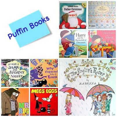 Picture books by Puffin Books หนังสือมือสอง นิทาน ปกอ่อน