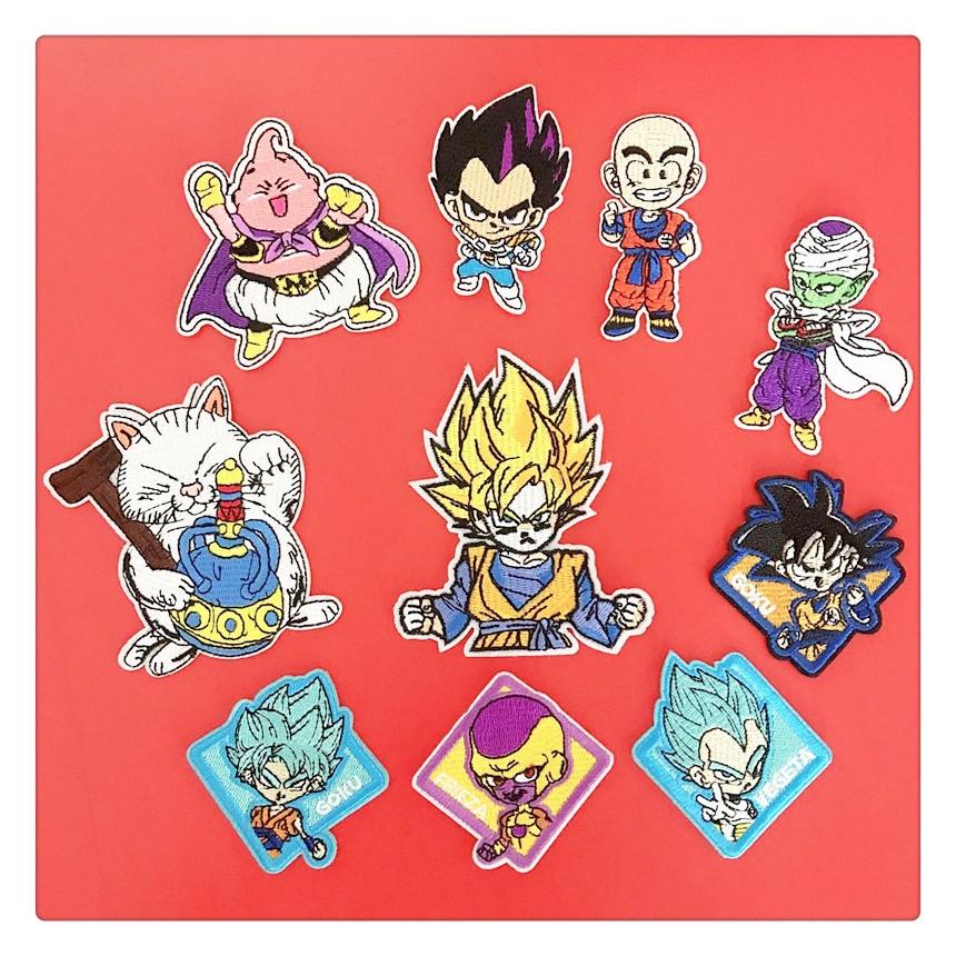สติ๊กเกอร์ปักลาย Dragon Ball / Dragonball / Dragon Ball Style 1
