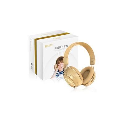 การพัฒนาศักยภาพทั้งสมองสมาร์ทโฟนสมองซีกขวา Alpha คลื่นสมองเพลงชุดหูฟังไร้สายสำหรับเด็กแบบสวมศีรษะเปิดสมาร์ทโฟน