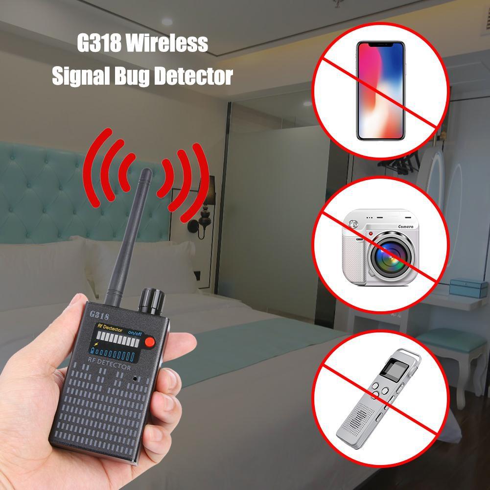 ☞SCS☜G318 Wireless Signal Bug Detector Anti Candid Camera GPS Location  Tracker