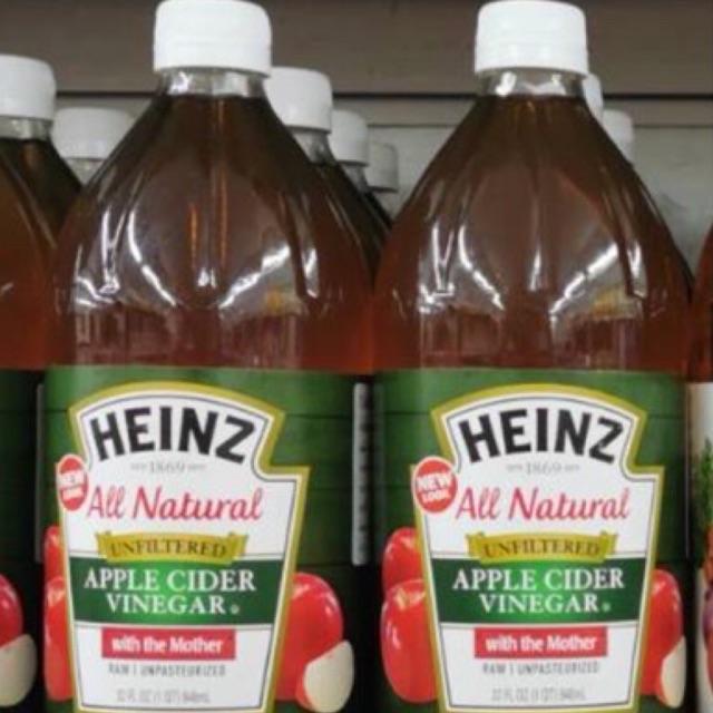 Heinz Apple Cider Vinegar (with the mother) 946ml.น้ำส้มสายชู หมักจากแอปเปิ้ล ชนิดไม่ผ่านการกรอง ตรา ไฮนซ์