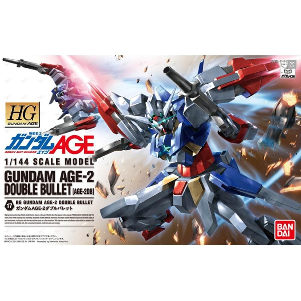 1060368 BANDAI SPIRITS GUNDAM AGE HG 1/144 Gundam AGE-2 DOUBLE BULLET