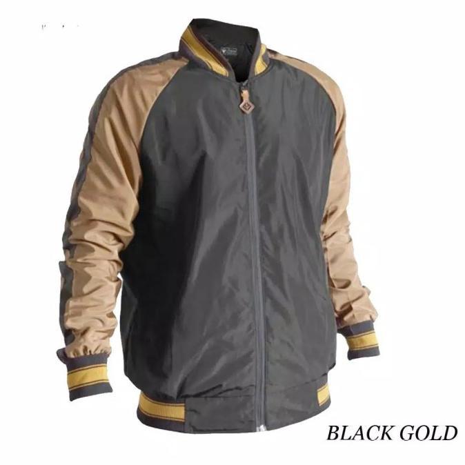 เสื้อแจ็คเก็ต Sukajan Bomber Jacket สีทองน้ําเงิน Xl