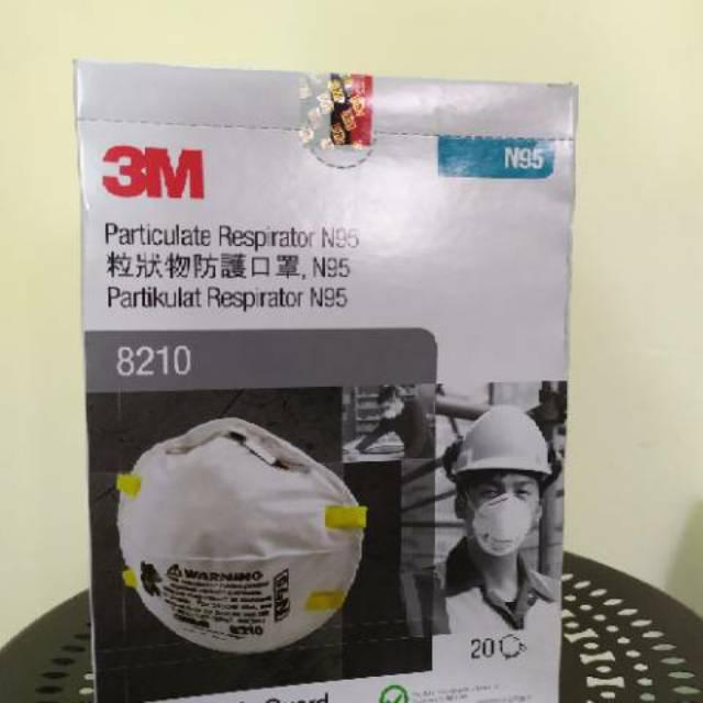 3m หน้ากากป้องกันความปลอดภัย N95 (8210) 3 เมตร
