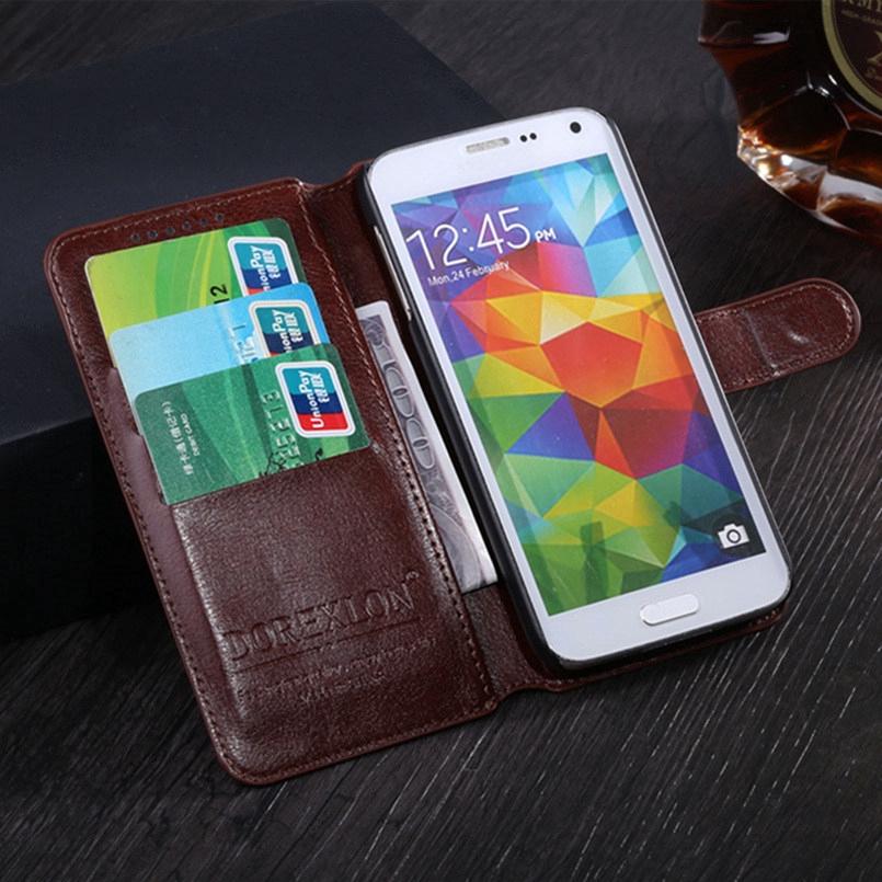 เคสโทรศัพท์หนังฝาพับพร้อมช่องใส่บัตรสําหรับ Huawei Y 3 2017 / Y5 Lite 2017 Cro - U00 Cro - L 22 U00
