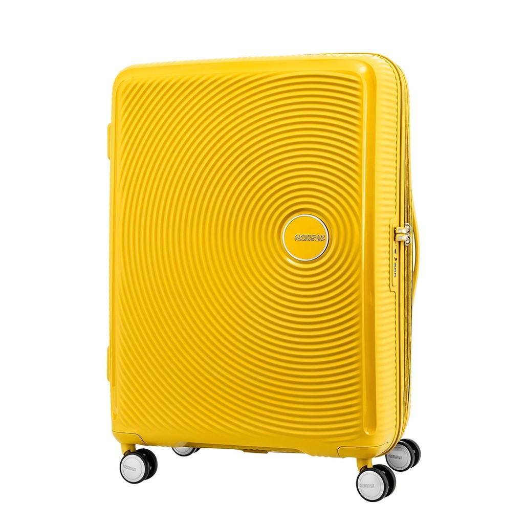 ผลการค้นหารูปภาพสำหรับ American Tourister กระเป๋าเดินทางรุ่น CURIO SPINNER 69/25 (25นิ้ว) EXP TSA สี GOLDEN YELLOW