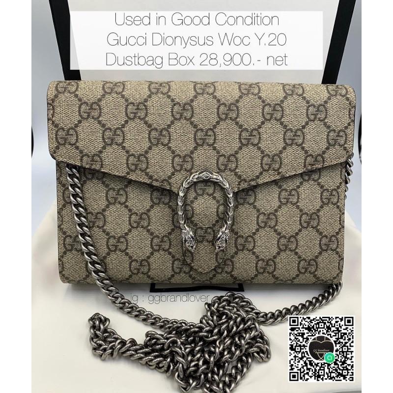 🎀 Gucci Dionysus Woc Y.20