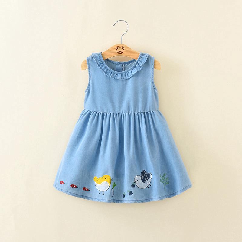 6f6719ca908a4 เดรสเด็กผู้หญิง เดรส Kids Dress SSleeveless Dress Causal Dress Girls Girls'  Dresses