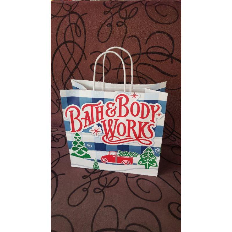 ถุงกระดาษ Bath & Body Work ถุงแบรนด์ต่างๆ