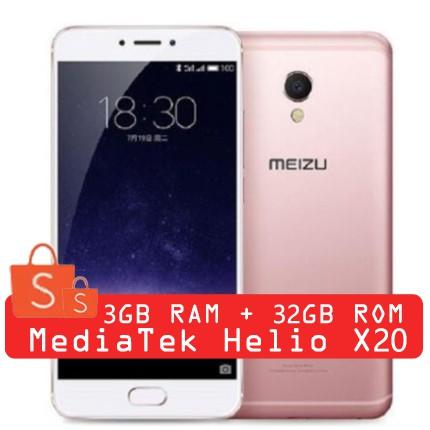 Original Meizu MX 6 32 GB 3GB Global Firmware OTA Update Mobile Phone Deca  Core