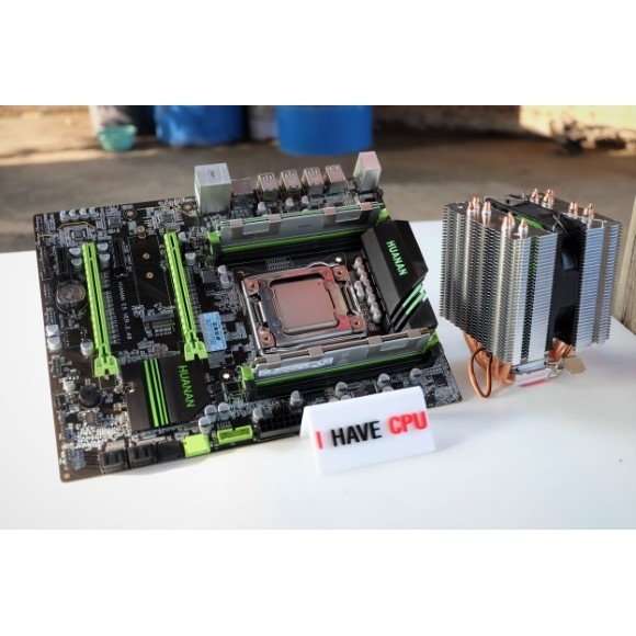 Xeon E5-2670 2 6Ghz (3 3Ghz) 8C 16T + Huanan X79 + 16GB DDR3 ECC + AVC 6 ท่อ