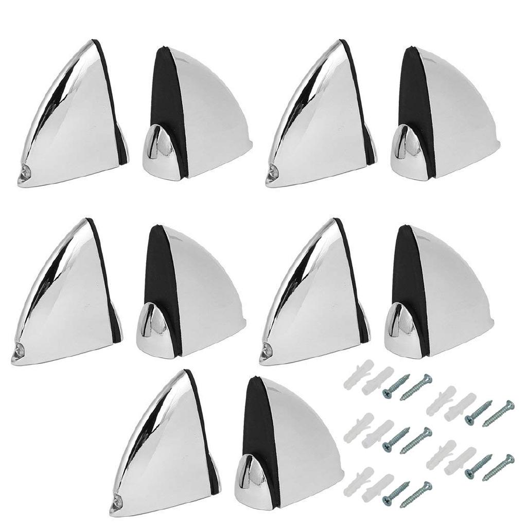 Metal Adjustable Shelf Clip Clamp Holder Bracket for 5mm-40mm Thick Glass