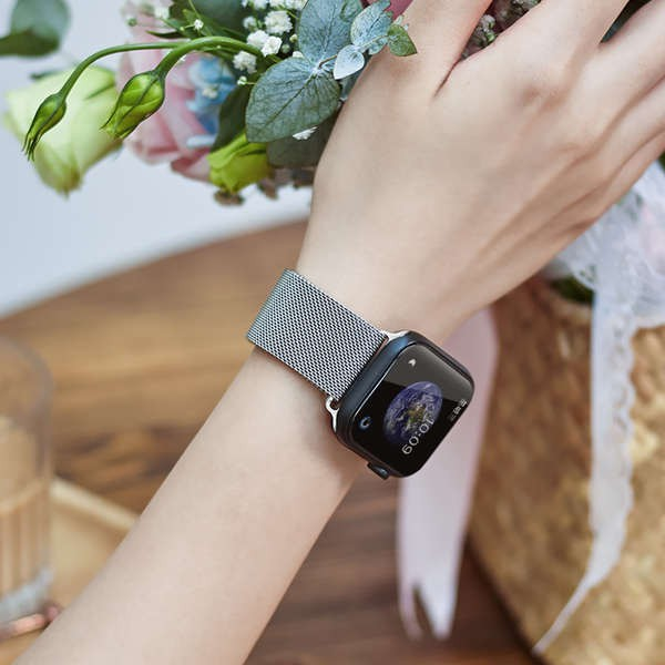 สาย applewatch Milanese สายแม่เหล็ก Charm Wind เหมาะสำหรับ Applewatch6 / SE Apple 5/4/3/2 / สายนาฬิกา Metal Creative รุ่