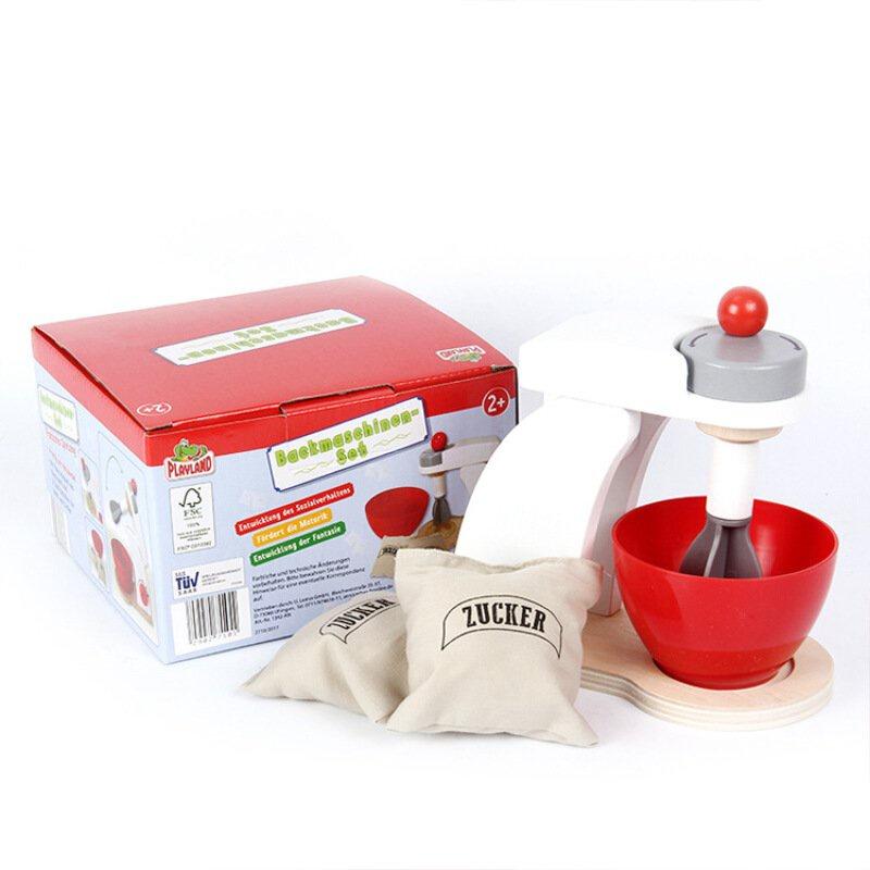 Me5U ☆【Ruiqin】เด็กจำลองเครื่องทำขนมปังเครื่องชงกาแฟเครื่องปั่นผสมเด็กชายและเด็กหญิงครัวเล่นบ้านของเล่น★