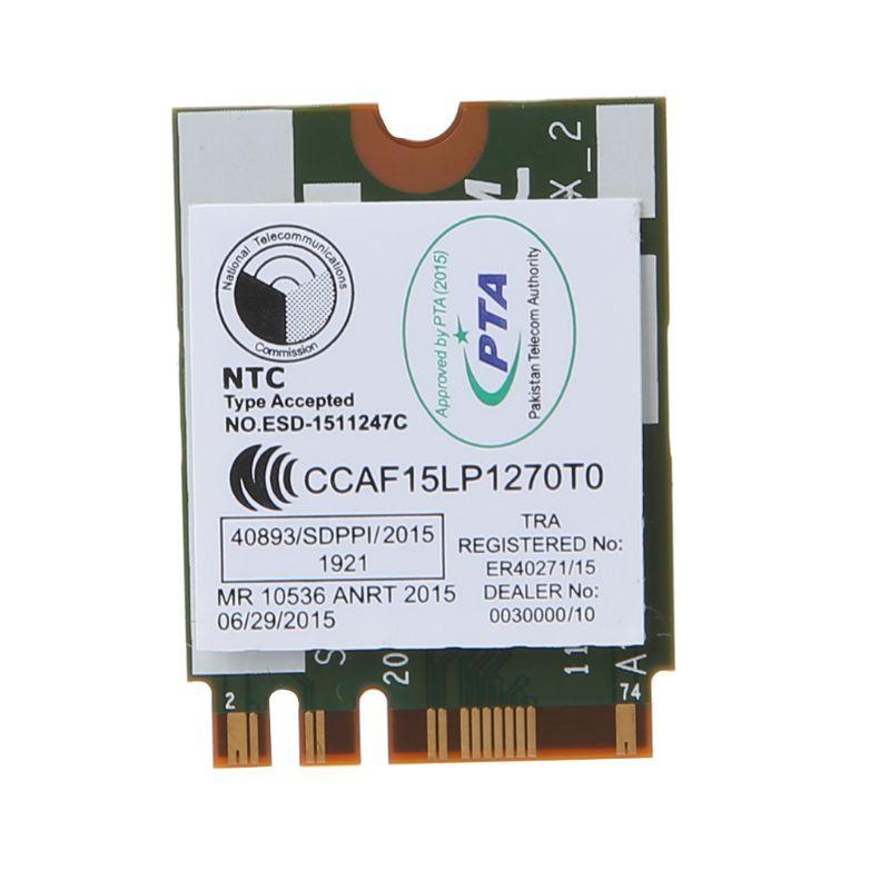 ❤❤ DW1820A BCM94350ZAE 802 11ac Bluetooth 4 1 867Mbps M 2 NGFF WiFi Wireless