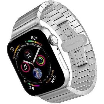 ☠☆สายรัดApple iWatch สายนาฬิกาแบบโซ่สแตนเลส applewatch se/ 6/5/4/รุ่น3/2 Series 38/42 MM4อุปกรณ์เสริมสายนาฬิกา0/44ลูกปัด